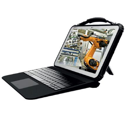 Защищённый планшет-трансформер Gronet CI-R22K